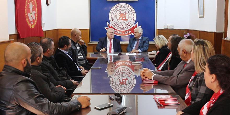 TKP, Türk-Sen'i ziyaret etti