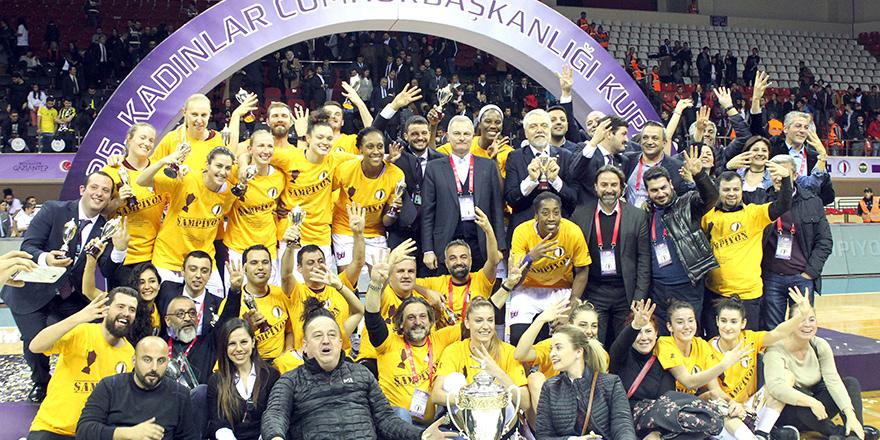 Cumhurbaşkanlığı Kupası YDÜ'nün: 75-59