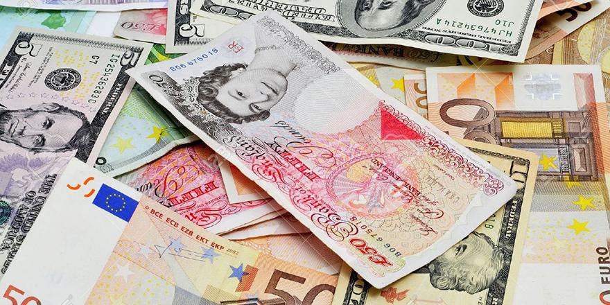 Sterlin 6.55 TL, Euro 5.78 TL, Dolar ise 4.91 TL'yi buldu