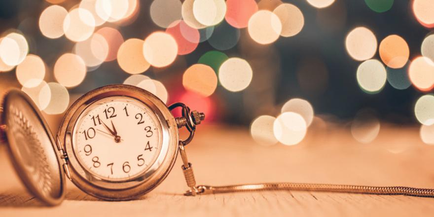 Yeni yıl için geri sayım…