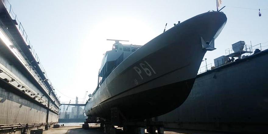 Açık deniz gemisi Kıbrıs'ta