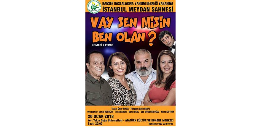 İstanbul Meydan Tiyatrosu sahne alıyor