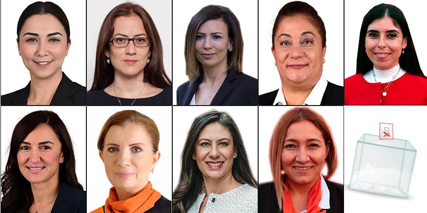 Meclis'te 9 kadın vekil!