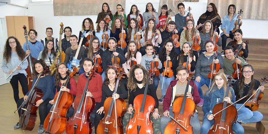 2018'e Bir Orkestra Hediye Ediyoruz;  Kuzey Kıbrıs Gençlik Senfoni Orkestrası