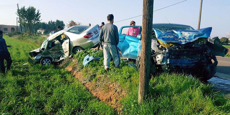 67 trafik kazasında, 25 kişi yaralandı