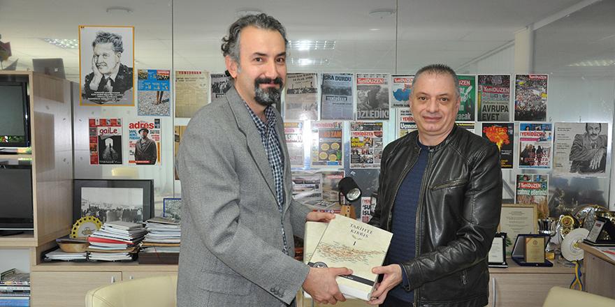 Akdeniz Karpaz Üniversitesi'nden United Medya'ya ziyaret