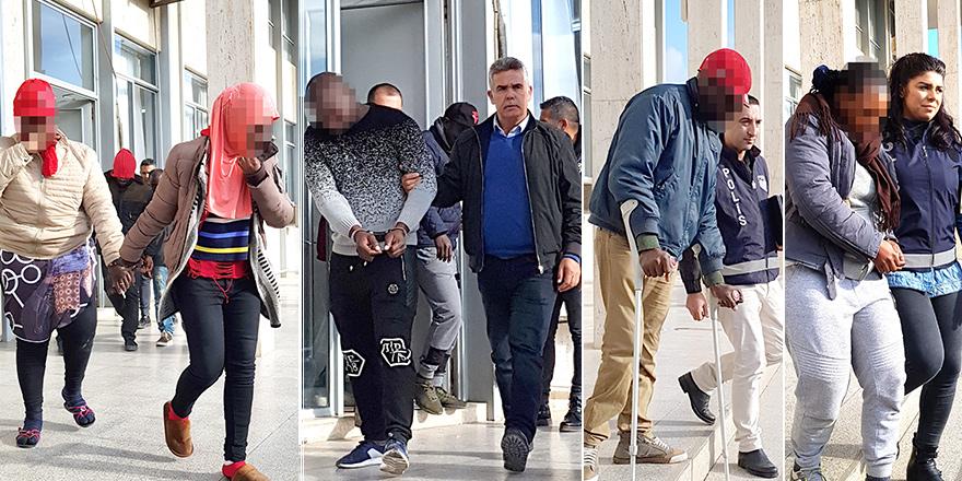Kaçakçılar bıraktı, polis aldı...