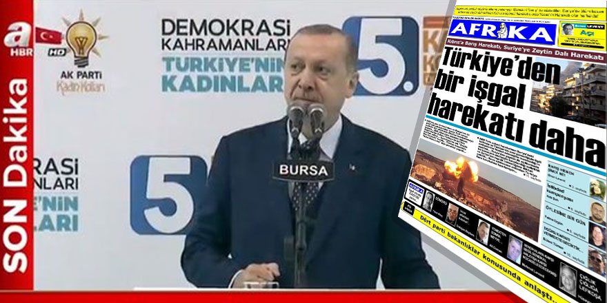 Erdoğan'dan Kıbrıs öfkesi: Pespaye bir gazete