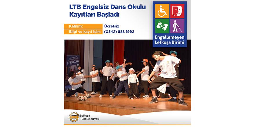 LTB Engelsiz Dans Okulu'na kayıtlar başladı