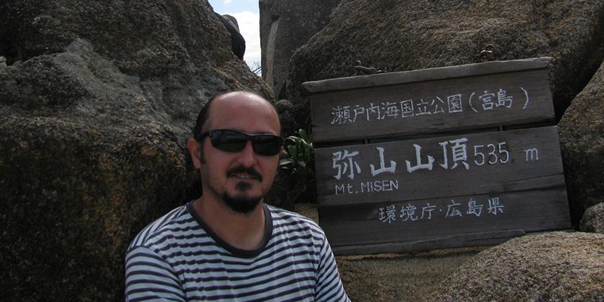 Japonya'da bir yer; Miyajima Adası