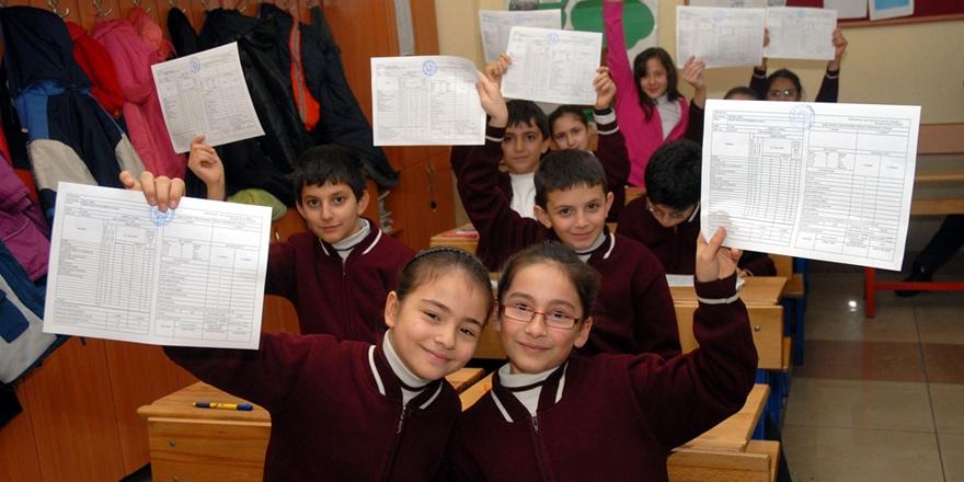 47 bin öğrenci karne alıyor