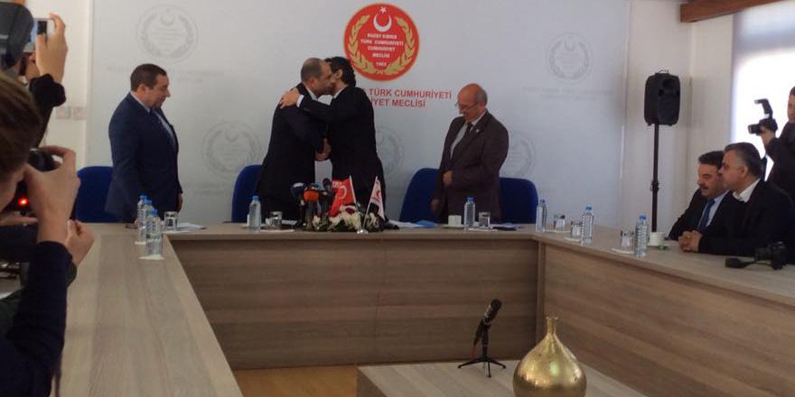 4'lü koalisyon protokolü imzalandı...