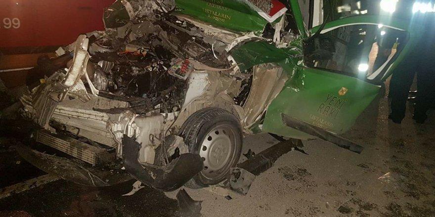 Aslanköy'de ÖLÜMLÜ kaza