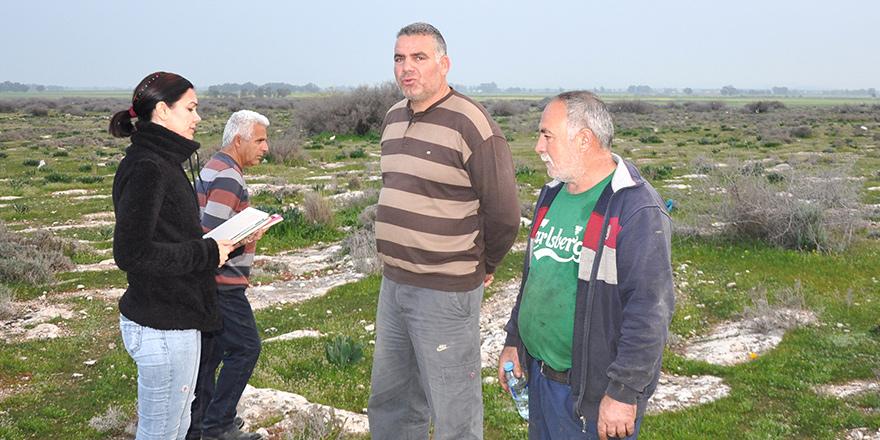 Aslanköy'de 'hali arazi' gerginliği