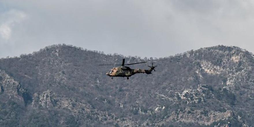 Helikopter düştü, 2 asker yaşamını yitirdi