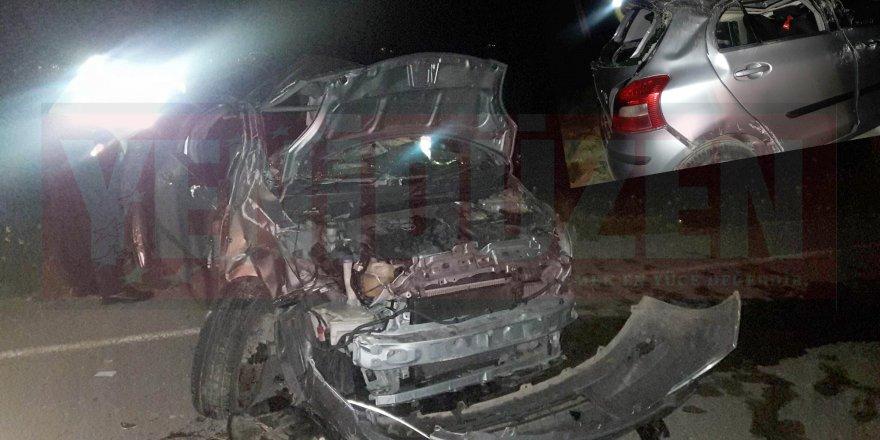 Dikmen'de kaza: 1 ağır yaralı
