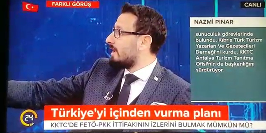 """'Antalya Turizm Tanıtma Memuru' Nazmi Pınar:  """"Kuzey Kıbrıs, ajanların cirit attığı bir coğrafya"""""""