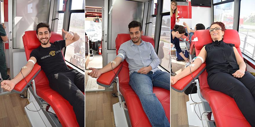 UFÜ'de kan bağışı kampanyası gerçekleştirildi
