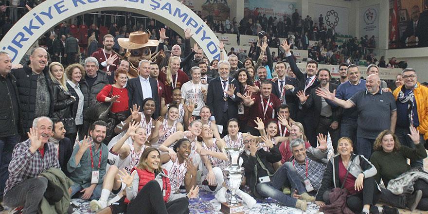 Türkiye Kupası'na YDÜ damgası: 86-79
