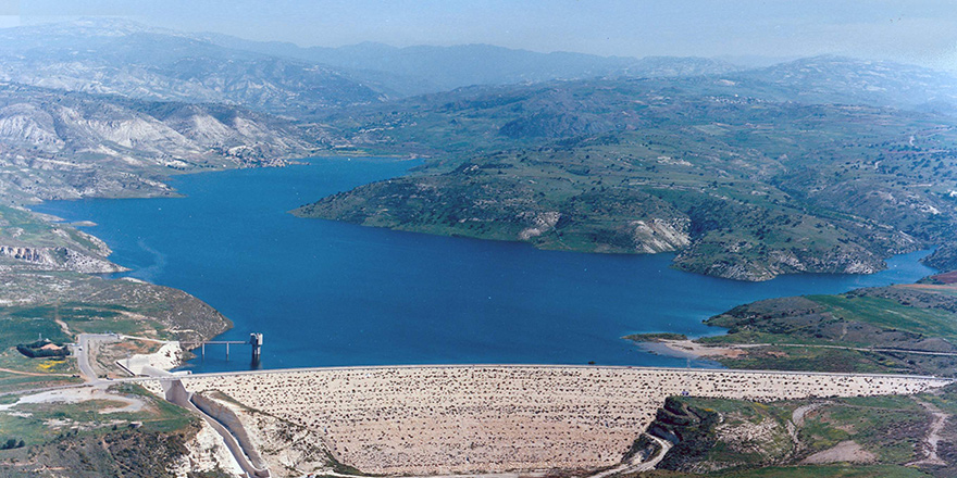 Güneyde barajların doluluk oranı yüzde 80.8