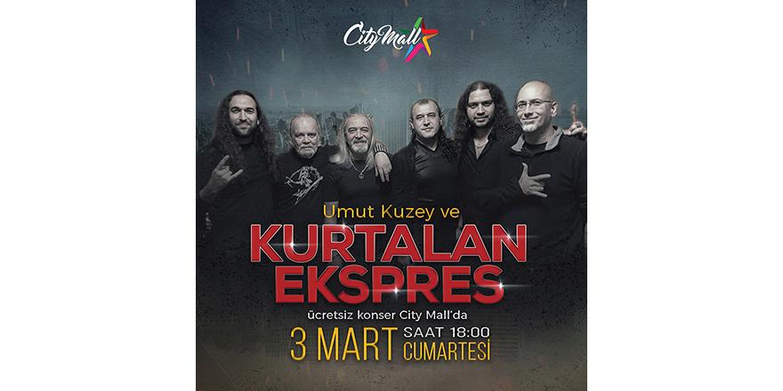 City Mall'da Kurtalan Ekspres konseri