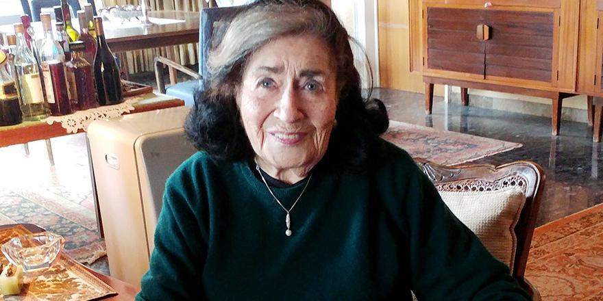 Askeri bölgede bir sivil: Elsie Slonim