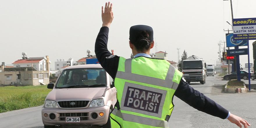 71 sürücü hakkında yasal işleme gidildi