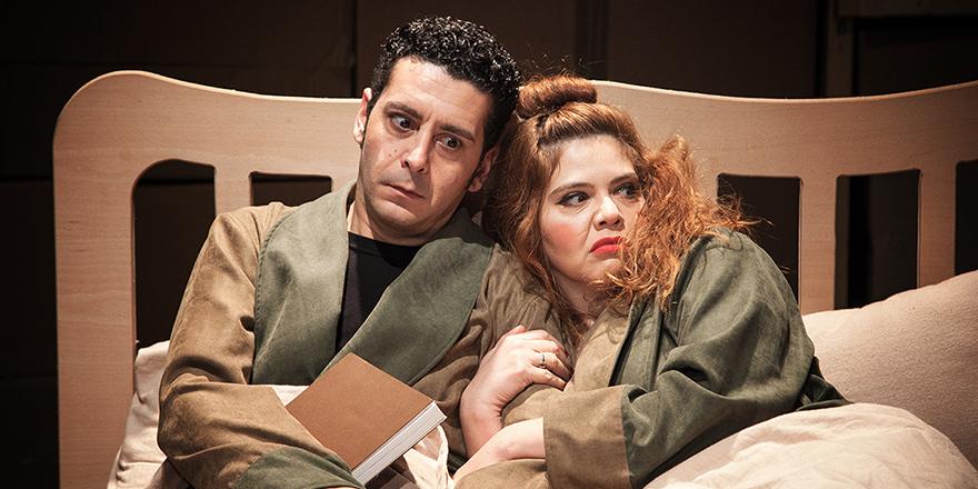 """""""İki Kişilik Hırgür"""" 3. Berlin Tiyatro Festivali'ne yer alıyor"""