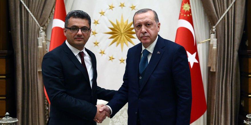 Erhürman, Erdoğan ile görüştü