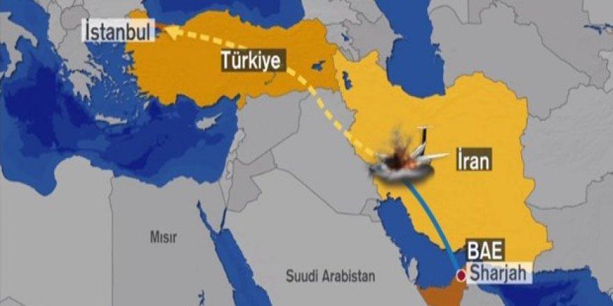 Türk jeti İran'da düştü: 11 kişi hayatını kaybetti