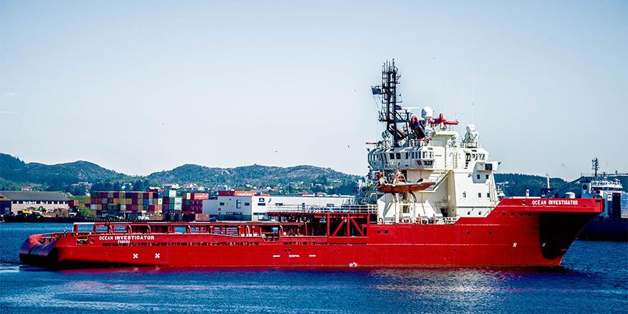 ExxonMobil araştırma gemisi Limasol'da