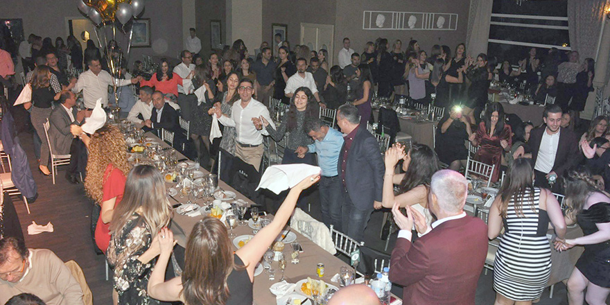 Girne'de eğlenceli gece