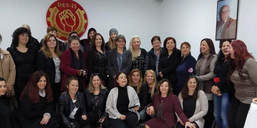 DEV-İŞ ve PEO Kadın Büroları'ndan iki toplumlu etkinlik