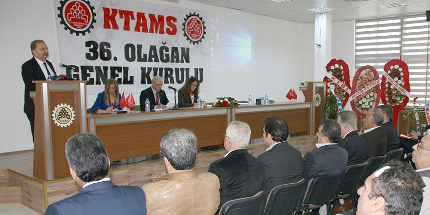 KTAMS'ın 36. Olağan Genel Kurulu yapıldı