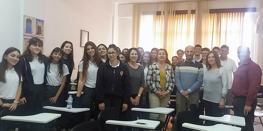 Bülent Ecevit Anadolu Lisesi'nde tarih ve karikatür konulu etkinlik