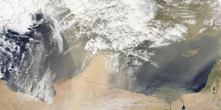 NASA uydusundan toz görüntüsü