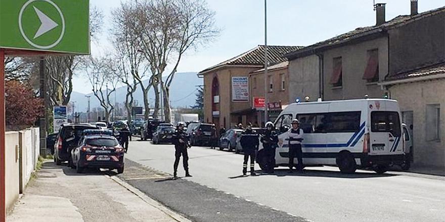 Fransa'da rehine krizi: İki ölü, 12 yaralı