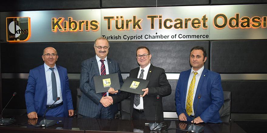 KTTO ile İTÜ-KKTC arasında işbirliği protokolü imzalandı