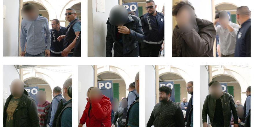 Tutuklu sayısı 14 oldu