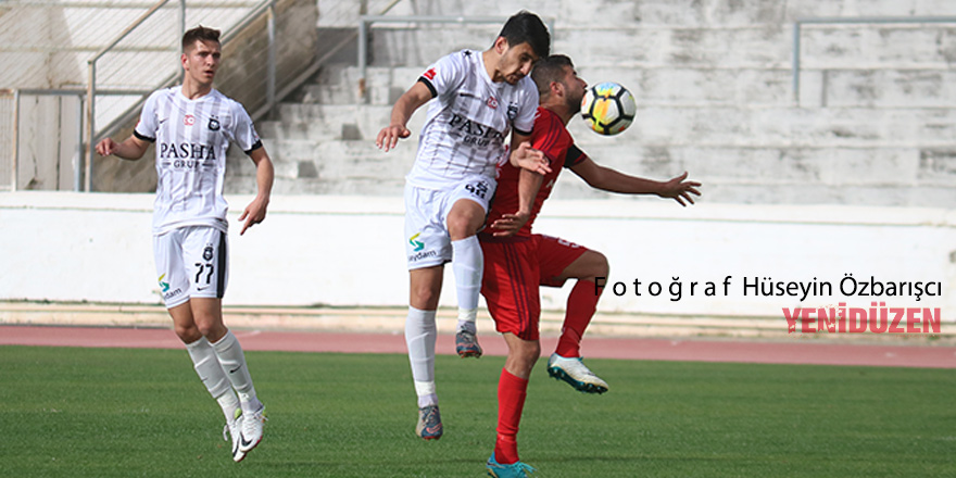 Lider Ozanköy'ü aşamadı: 1-1