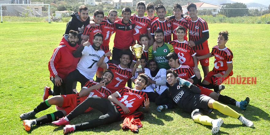 Yılın ilk şampiyonu Hamitköy