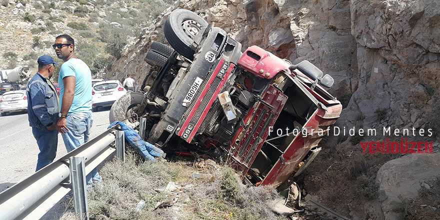 Dağyolu'nda feci kaza