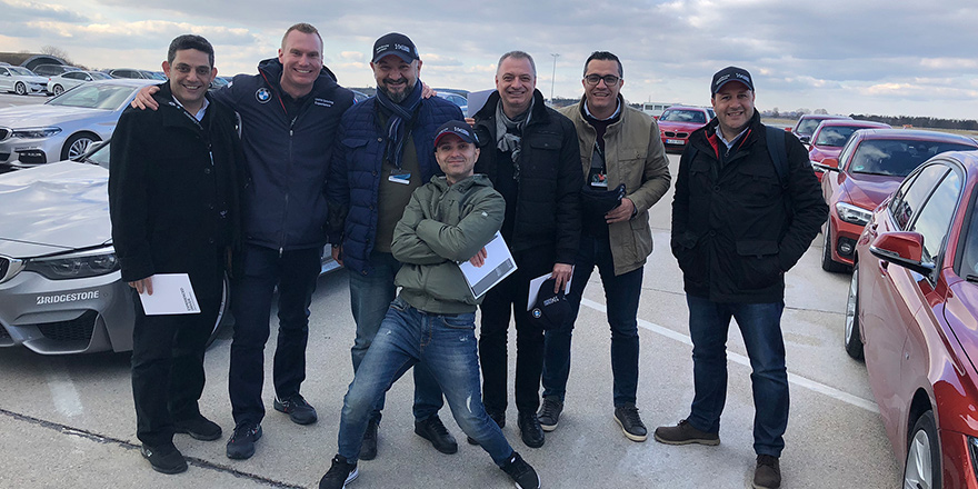 Kıbrıslı gazeteciler BMW'yi ziyaret etti