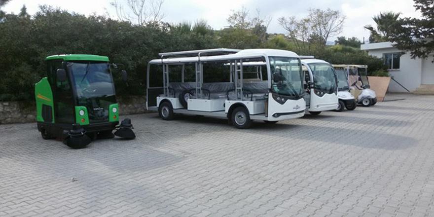 Çevre dostu akülü araçlar turizmin hizmetinde