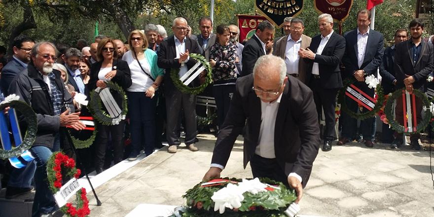 BKP, Derviş A. Kavazoğlu ve Kostas Mişaulis'in anma etkinliğine katıldı