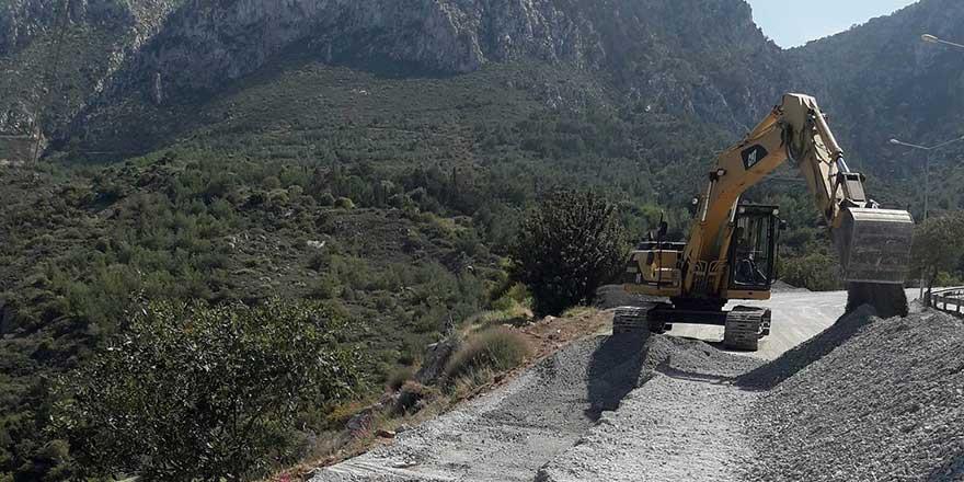 """Lefkoşa-Girne Anayolu üzerinde """"olası gömü yeri"""""""