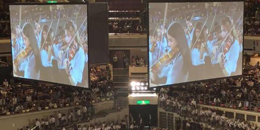 Kıbrıs Sanat Keman bölümü öğrencileri Tokyo'da konser verdi