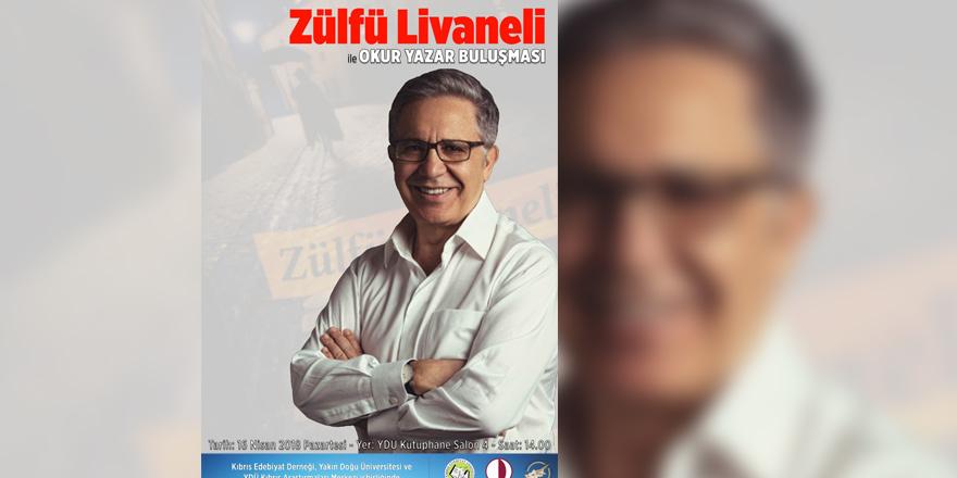 Zülfü Livaneli okurlarıyla buluşacak