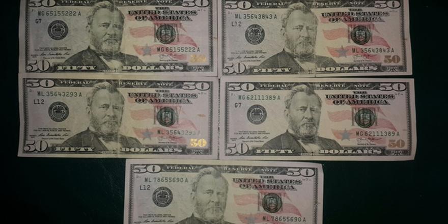 Polis uyardı: Sahte dolarlara dikkat