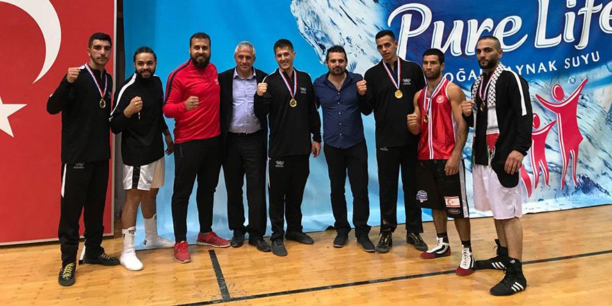 UFÜ sporcusu Kurbanov yine birinci